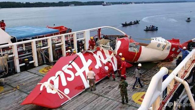 Phát hiện thêm thi thể nạn nhân thảm kịch QZ8501