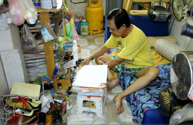 4 đời vợ, về già nhạc sĩ Vinh Sử vẫn phải sống cảnh cô đơn, bệnh tật trong căn nhà chật chội
