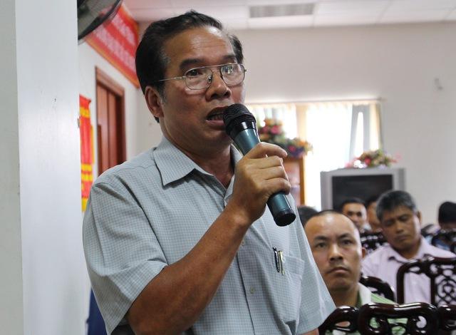 Ông Lê Ngọc Chân - Phó chủ tịch Hiệp hội Vận tải Yên Bái lo ngại miếng bánh không được đều