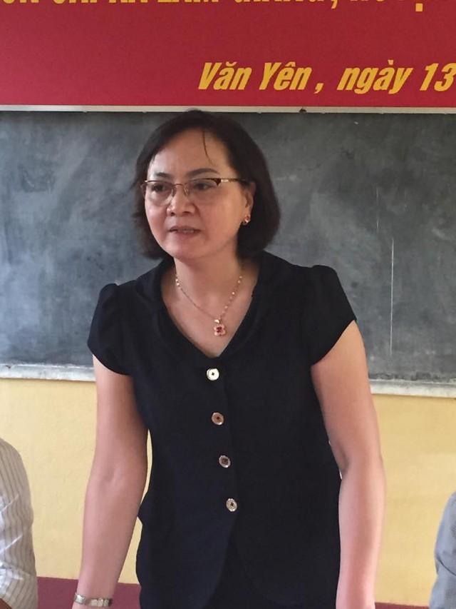 Chủ tịch UBND tỉnh Yên Bái tại buổi thông tin tới báo giới. Ảnh: Thanh Sơn