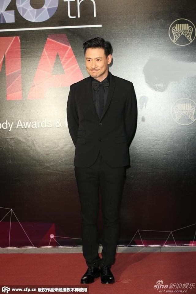 Trương Học Hữu bảnh bao trên thảm đỏ.