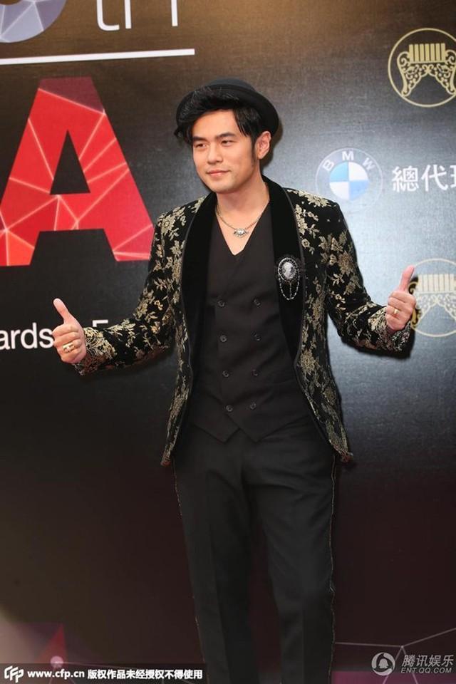 Châu Kiệt Luân tiếp tục là ông hoàng thảm đỏ năm nay.