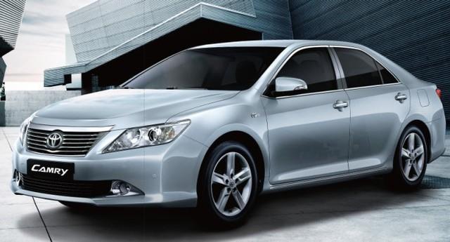 Xe ô tô Toyota Camry 2.5G trị giá 1,3 tỷ đồng đang tìm khách hàng may mắn khi mua đất của dự án khu đô thị sinh thái ven sông Hòa Xuân