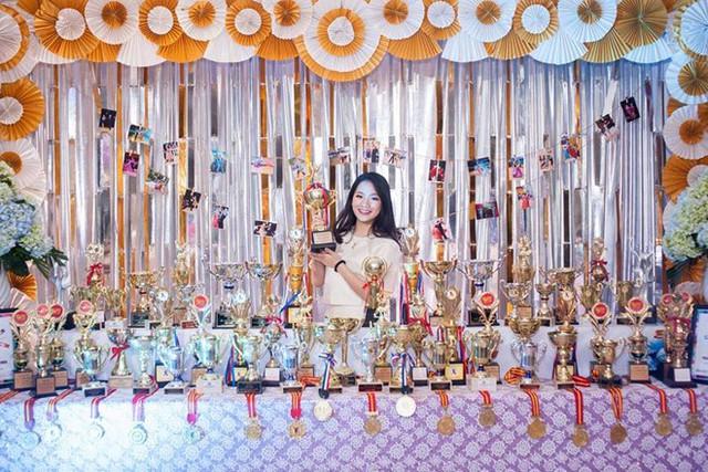 Hoa khôi 16 tuổi của làng dancesport và gia tài huy chương