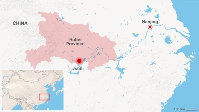 65 người chết trong vụ lật tàu ở Trung Quốc