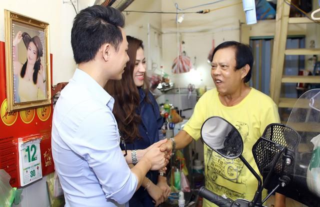 Ca sĩ Ngọc Châm, Bảo Khánh vừa có chuyến đến thăm nhạc sĩ Vinh Sử