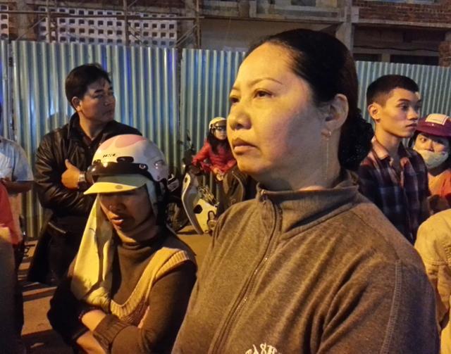 Bà Trần Thị Mai Ngọc: Cả gia đình tôi mang ơn ông Thanh nhiều lắm. Ảnh Đức Hoàng