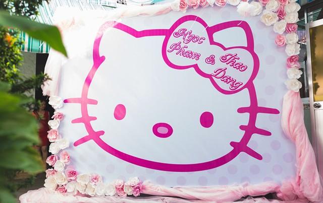 Lễ ăn hỏi theo phong cách Hello Kitty tại Bình Dương