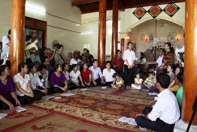 Sinh hoạt diễn xướng ví, giặm. tại Đô Lương, Nghệ An
