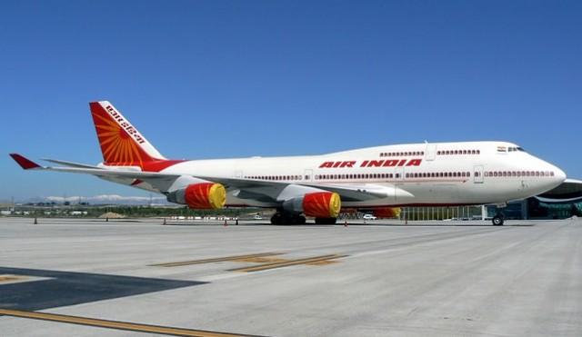Máy bay của hãng hàng không Air India. Ảnh: Inquisitr