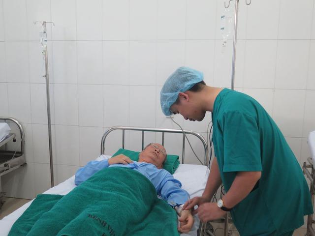 Các bệnh nhân được chăm sóc tận tình