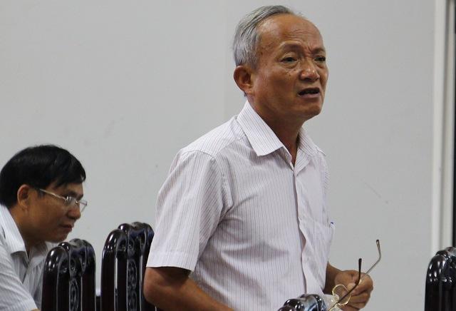 Ông Trần Phương bức xúc vì qua nhiều lần đối thoại không có kết quả