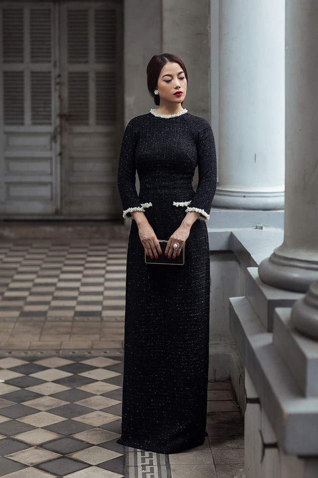 Trương Ngọc Ánh diện áo dài lấy cảm hứng từ Coco Chanel