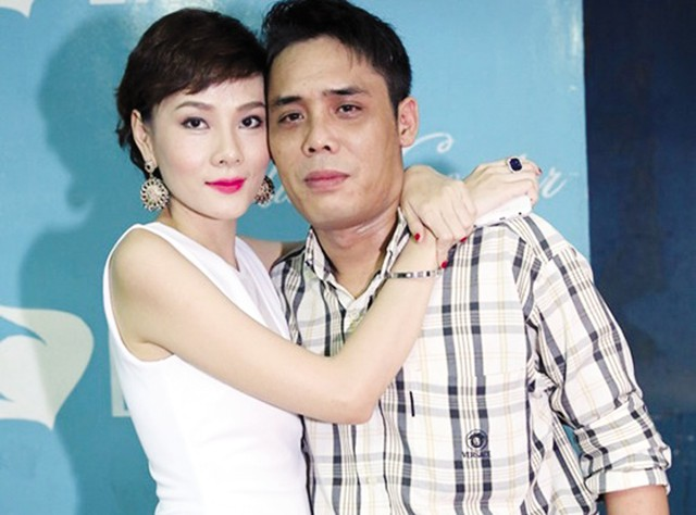 Vợ chồng Dương Yến Ngọc lúc còn mặn nồng.