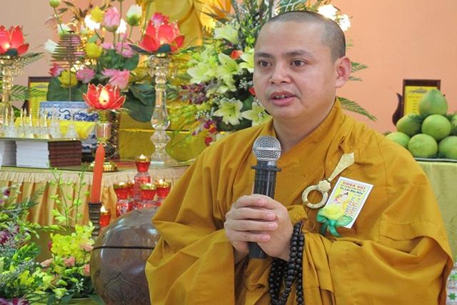 Đại đức Thích Thanh Phương.