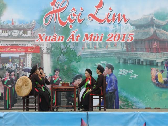 Hội Lim - một lễ hội truyền thống có tự lâu đời của người dân xứ Kinh Bắc