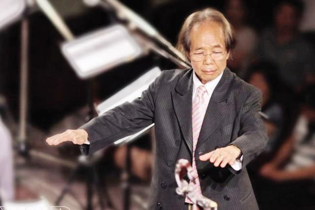 Nhạc sĩ Nguyễn Thiện Đạo trong một lần biểu diễn tại Việt Nam.  Ảnh: Công Hân