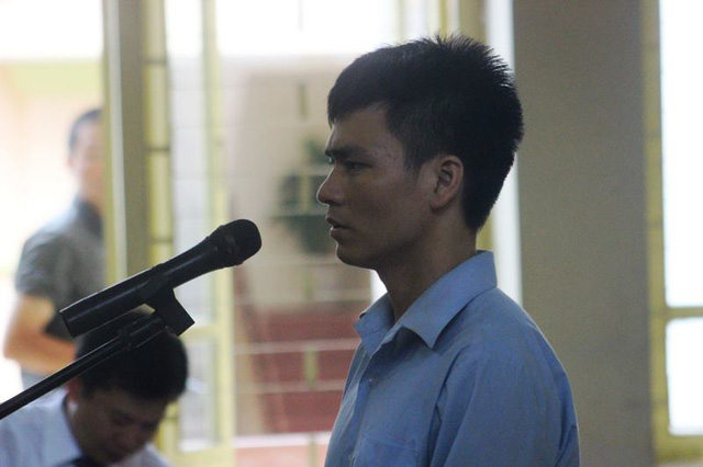 Bị cáo Lý Nguyễn Chung.