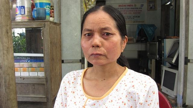 Chị Nguyễn Thị Ngọc Mai trước khi được đưa qua Đài Loan điều trị. Ảnh Đức Hoàng