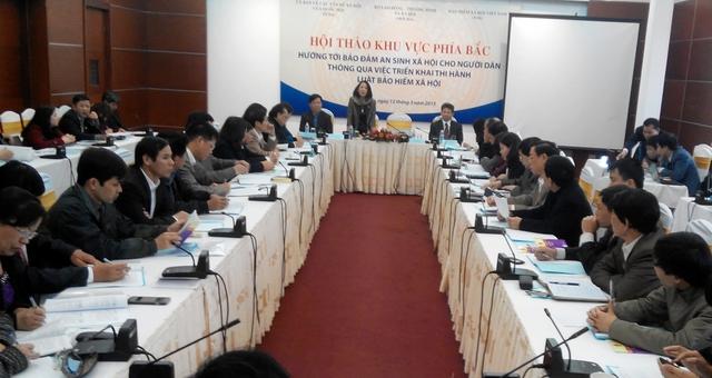 Hội thảo diễn ra ngày 12/3 tại Hà Nội. Ảnh: V.N
