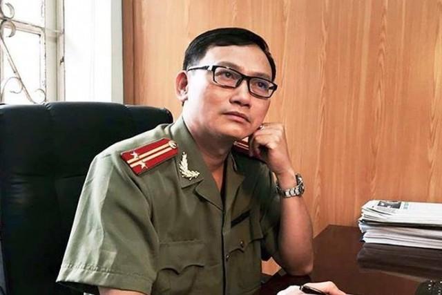 Trung tá, ThS Đào Trung Hiếu. Ảnh: X.T