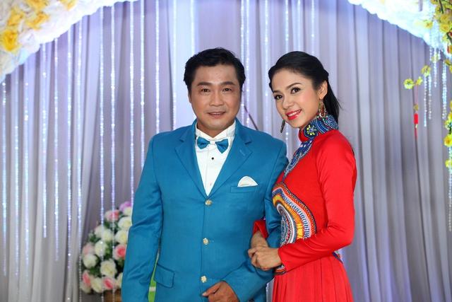 Lý Hùng và bạn diễn ăn ý Việt Trinh một thời. Ảnh Khánh Vy