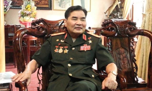 Trung tướng Phạm Xuân Thệ. Ảnh: C.T