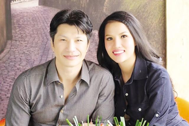 Diễn viên, đạo diễn Dustin Nguyễn và cựu người mẫu Bebe Phạm. Ảnh: TL