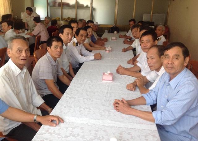Đoàn Cựu chiến sỹ Hải quân Nghệ Tĩnh giao lưu cùng các cựu chiến sỹ hải quân ở thành phố Hồ Chí Minh