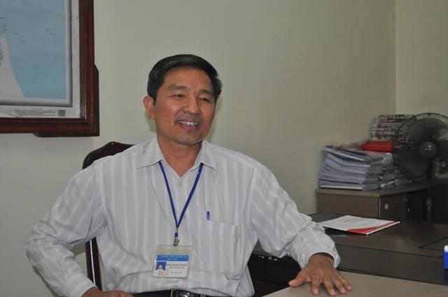 Hoàng Văn Hảo – Phó Giám đốc Sở Y tế Nghệ An trao đổi với phóng viên