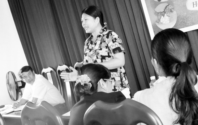 """Bà Trần Thị Hồng Thúy: """"Việc điều chỉnh giá vé là cách đảm bảo quyền lợi cho khách khi đến Cù Lao Chàm có thể thưởng ngoạn hết cảnh đẹp cũng như giá trị của nó""""."""