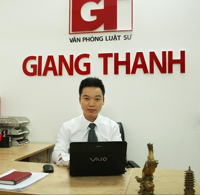 Luật sư Giang Hồng Thanh trao đổi với PV