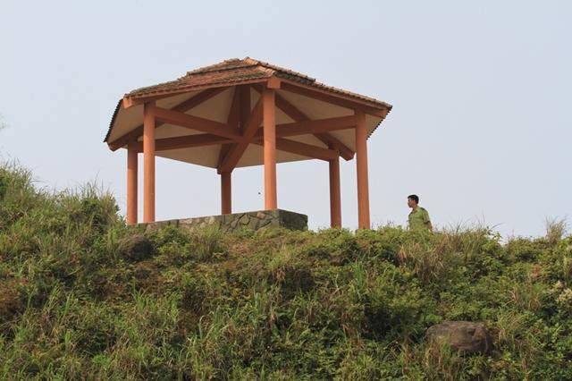 Sáng 19/3, lực lượng Kiểm lâm Đà Nẵng đã có mặt tại đỉnh Bàn Cờ - Bán đảo Sơn Trà để vây bắt con khỉ...