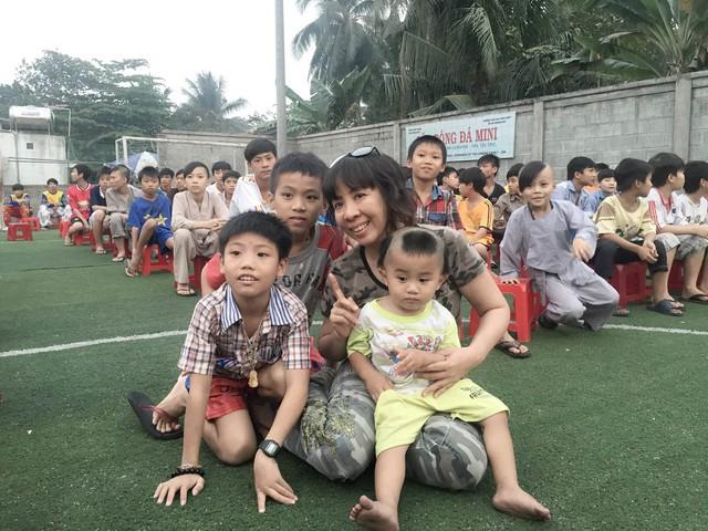Nhóm thiện nguyện hy vọng có thể đóng góp phần nào vật chất và tinh thần để chia sẻ, giúp đỡ các em có hoàn cảnh khó khăn tại trường Bồ Đề Duy Phương