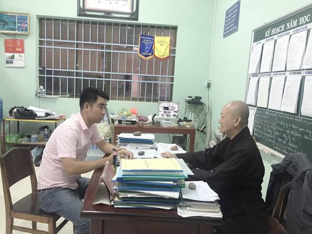 Thầy Thích Quảng Tâm chia sẻ về những hoàn cảnh thương tâm của các em tại trường Bồ Đề Duy Phương