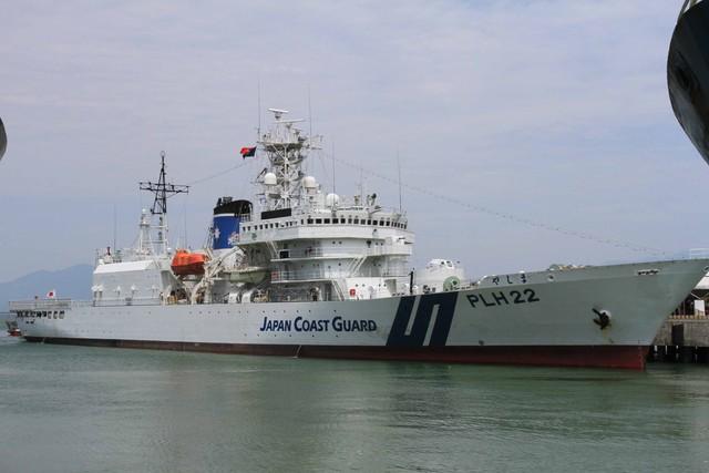 Tàu tuần tra của lực lượng bảo vệ bờ biển Nhật Bản Yashima cập cảng Tiên Sa...