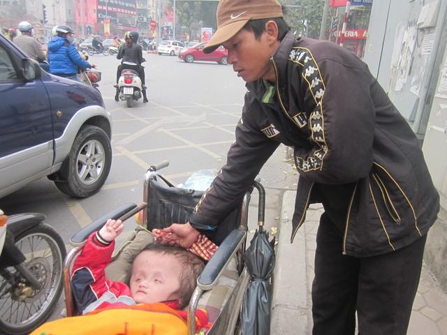 Hoàn cảnh của gia đình bé Trung cần lắm sự giúp đỡ của nhà hảo tâm