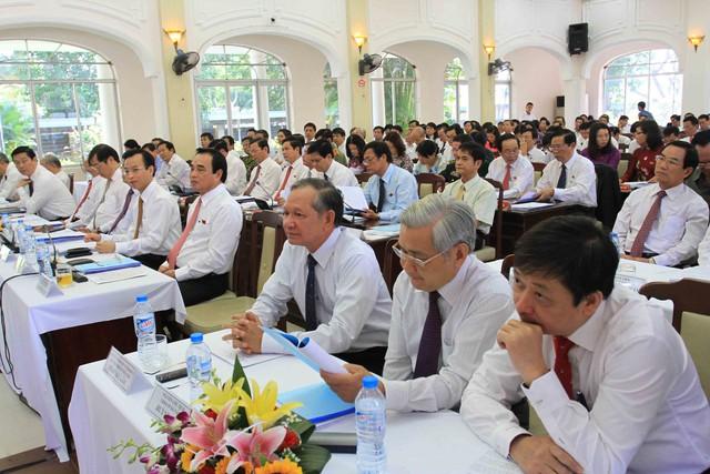 Các đại biểu tham dự kỳ họp lần thứ 14 HĐND TP Đà Nẵng khóa 8, nhiệm kỳ 2011-2016. Ảnh Đức Hoàng