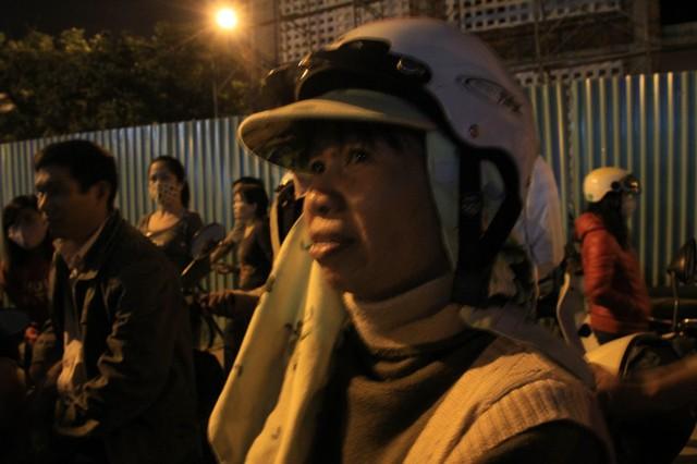 Bà Nguyễn Thị Miên: Ông Thanh đã giúp đỡ gia đình tôi có chỗ ở ổn định, gia đình tôi mang ơn ông ấy nhiều lắm. Ảnh Đức Hoàng