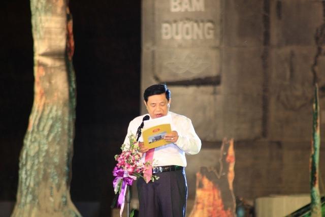 Chủ tịch UBND tỉnh Nguyễn Xuân Đường ôn lại lịch sử hào hùng của Truông Bồn