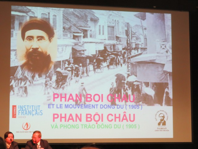 """Tọa đàm """"Phan Bội Châu và Phong trào Đông du""""."""