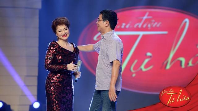 Nhạc sĩ Đặng Hữu Phúc- tác giả ca khúc Ru con mùa đông làm khách mời trong chương trình