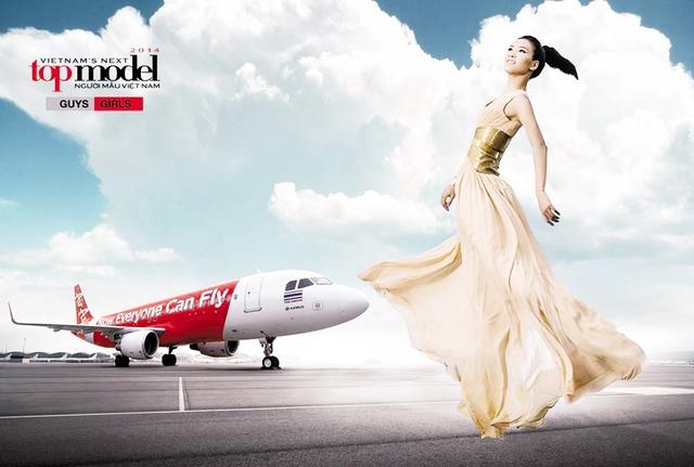 Thí sinh Nguyễn Thị Oanh trong cuộc thi Vietnam's next top model. Ảnh: BTC