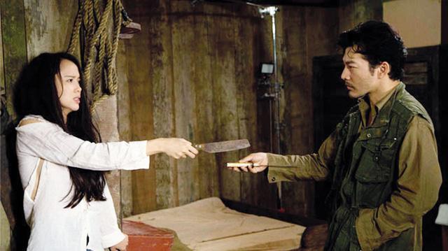 Diễn xuất của Ngọc Anh và Trần Bảo Sơn trong phim. Ảnh: TL