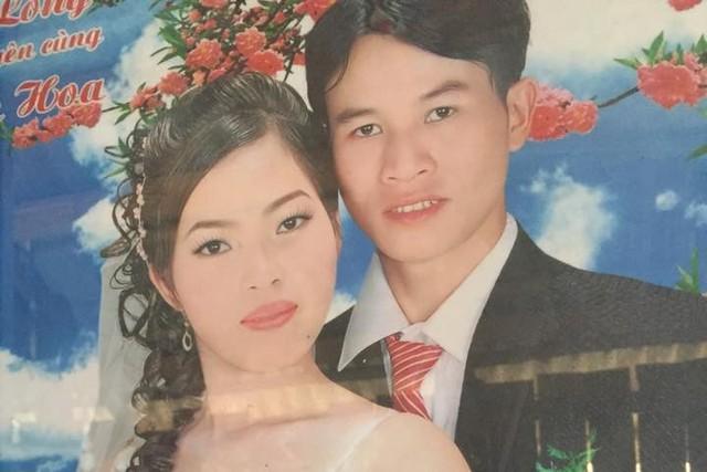 Vợ chồng nạn nhân. Ảnh: Thanh Sơn