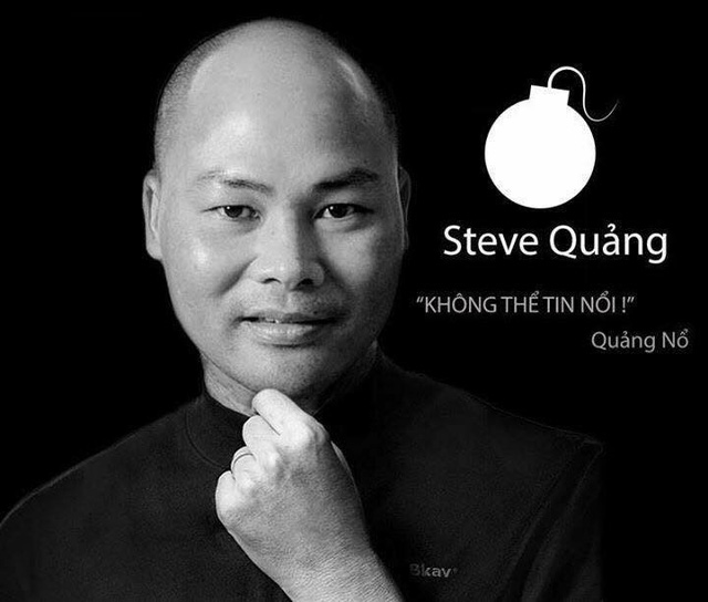 Nguyễn Tử Quảng và Stever Job