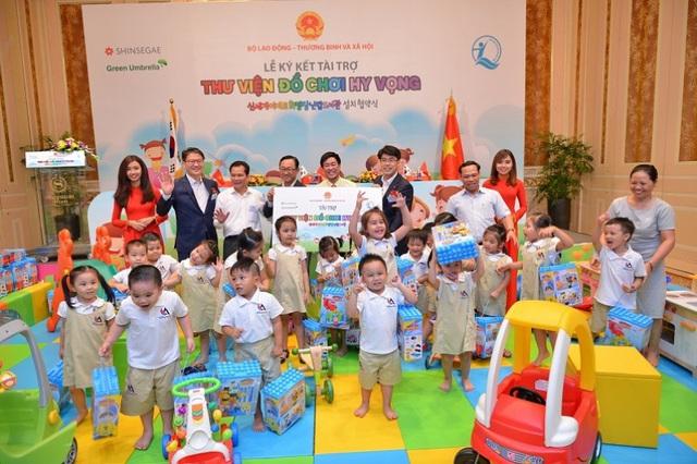 Thư viện đồ chơi sẽ trang bị cho trẻ em những kỹ năng, kiến thức cơ bản cho cuộc sống sau này và trước hết là có một tuổi thơ được vui đùa bổ ích.