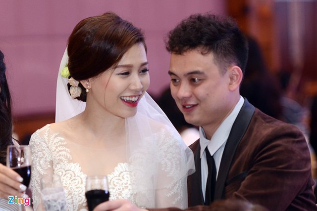 Diễn viên Mi Trần và bạn đời