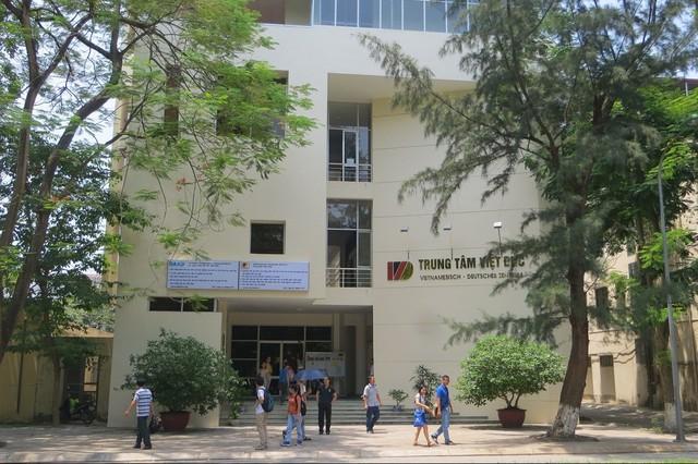Khuôn viên mới tu bổ của Trung tâm Việt-Đức tại ĐH Bách Khoa