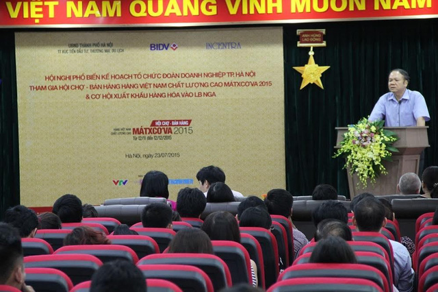 Qua hội nghị, thêm nhiều cơ hội để hàng Việt Nam thâm nhập thị trường Nga